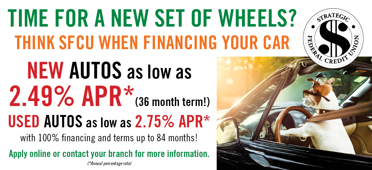 Think SFCU for Auto Loans
